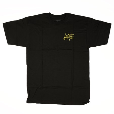 Doom Sayers Sacto Script 2 T Shirt Black