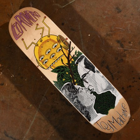 Toy Machine Leo Romero Peeping Toy Deck  in stock now.