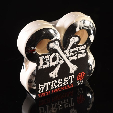 Bones Wheels Felipe Gustavo OG STF V1 Wheels White in stock now.