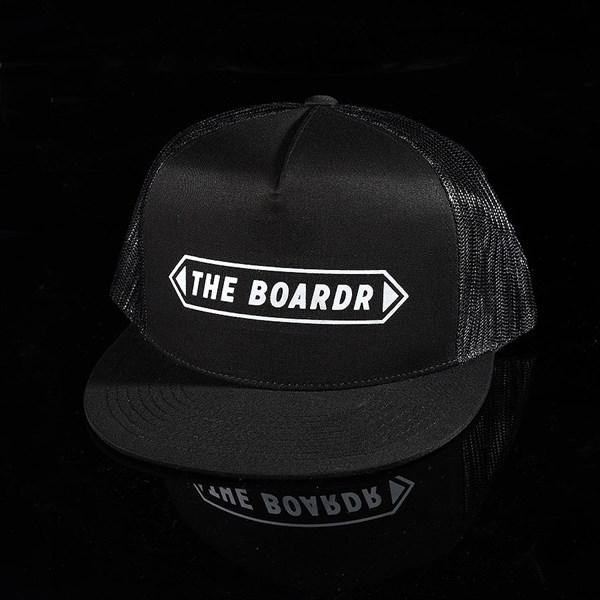 The Boardr Banner Trucker Hat Black