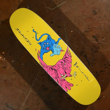 Welcome Chris Miller Prequel on Catblood 2.0 Deck Neon Yellow