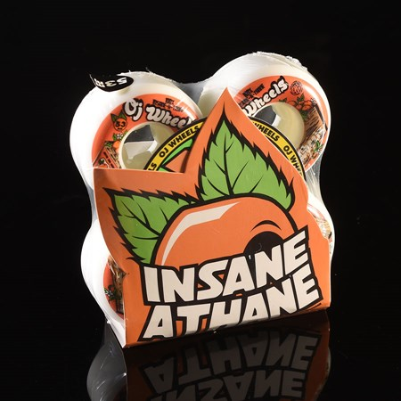 OJ III Wheels Orange Box Insaneathane 99a Wheels White