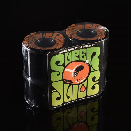 OJ III Wheels Super Juice 78a Wheels Black