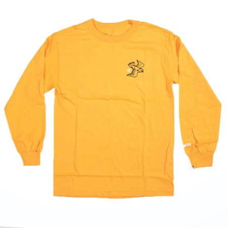 Vans Andrew Allen Long Sleeve T Shirt Gold in stock now.