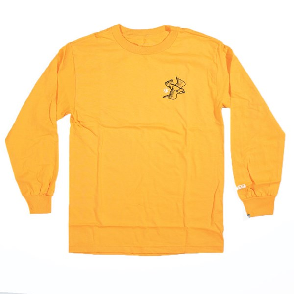 Vans Andrew Allen Long Sleeve T Shirt Gold
