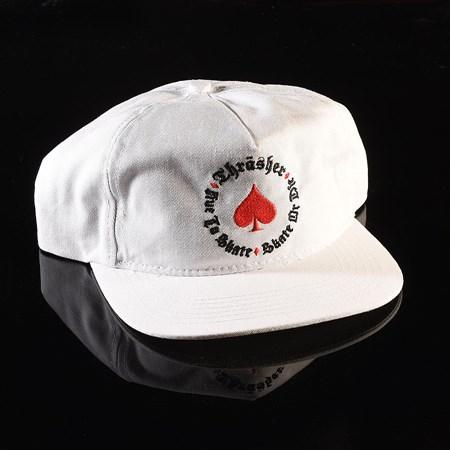 Thrasher Oath Snapback Hat White