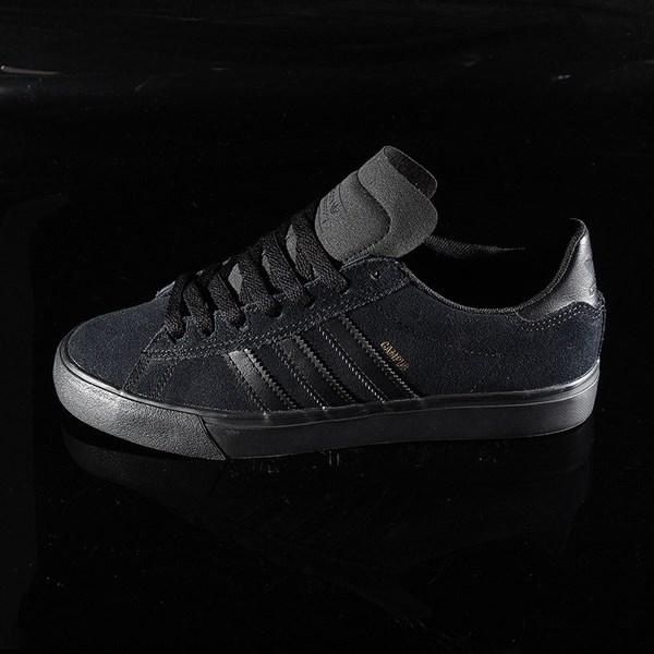 adidas Campus Vulc II Shoe Black, Black, Black