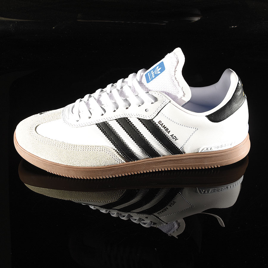 White, Black, Gum Shoes Samba ADV Shoe in Stock Now