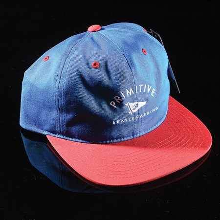 Primitive Archie 6-Panel Unstructured Snapback Hat Royal