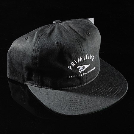 Primitive Archie 6-Panel Unstructured Snapback Hat Black