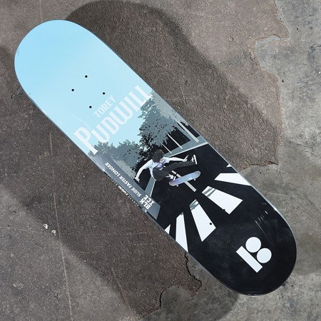 Plan B Torey Pudwill A-B Road Black Ice Deck  in stock now.