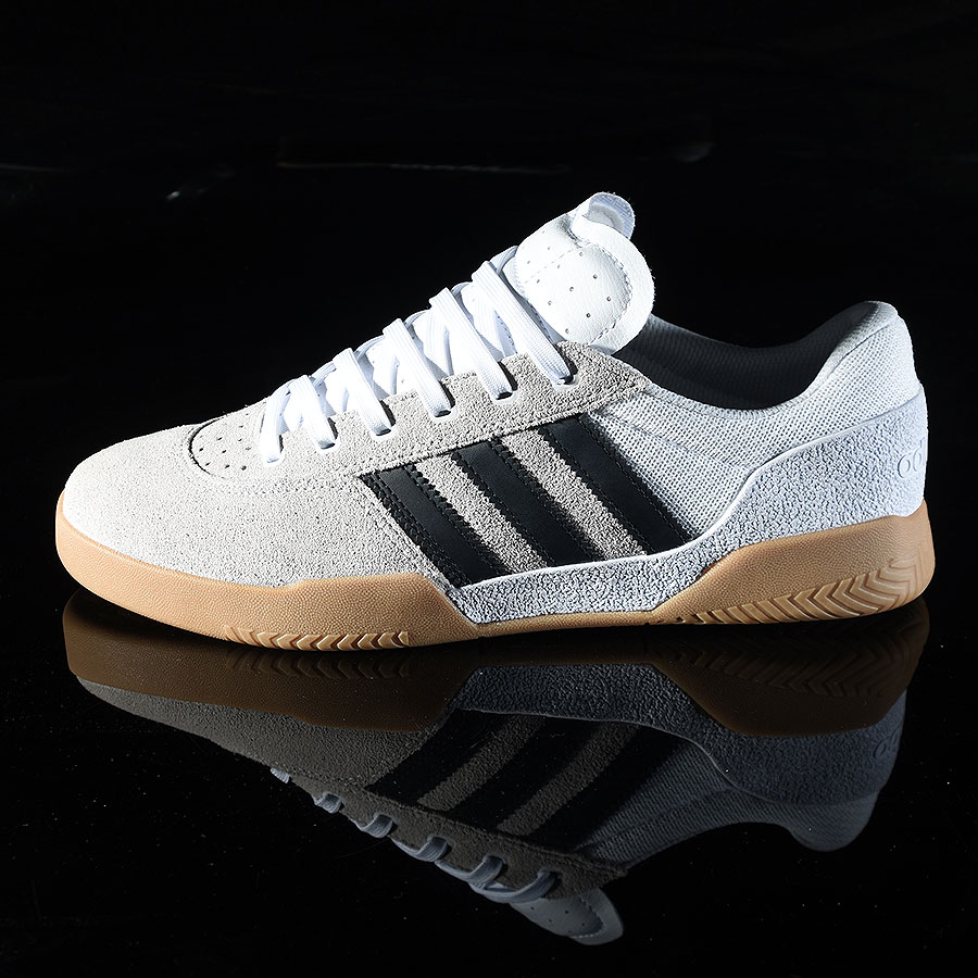 White, Black, Gum Shoes City Cup Shoe in Stock Now