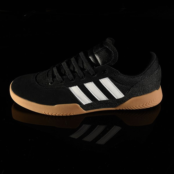adidas City Cup Shoe Black, White, Gum