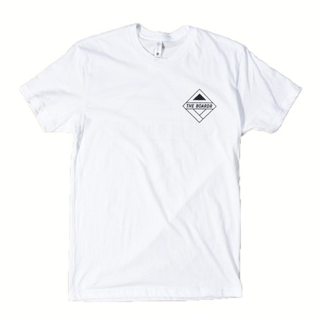 The Boardr USA Boardr Logo T Shirt White