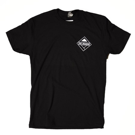 The Boardr USA Boardr Logo T Shirt Black