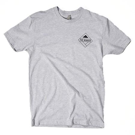 The Boardr Florida Boardr Logo T Shirt Heather Grey