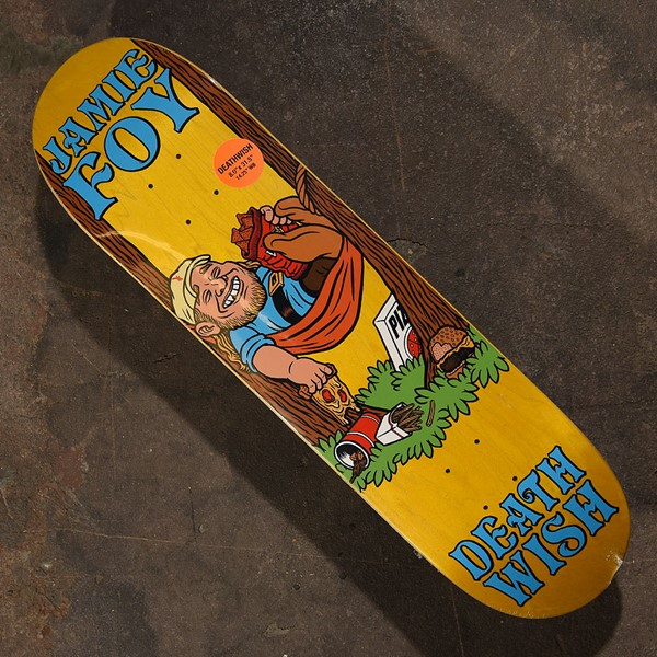 Deathwish Jamie Foy Happy Place Deck Assorted Stains