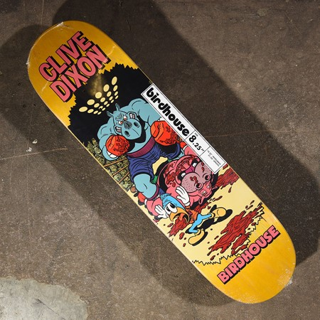 Birdhouse Clive Dixon Vices Deck Assorted Stains in stock now.