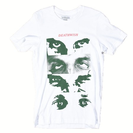 Deathwish Many Faces T Shirt White