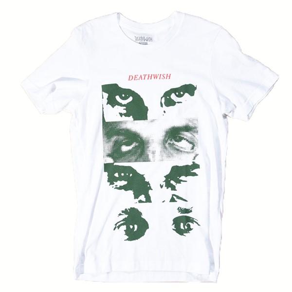 Deathwish Many Faces T Shirt White