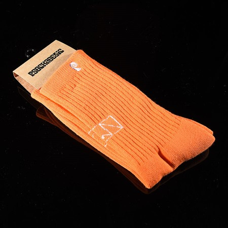 Psockadelic Go Fast Socks Orange, White