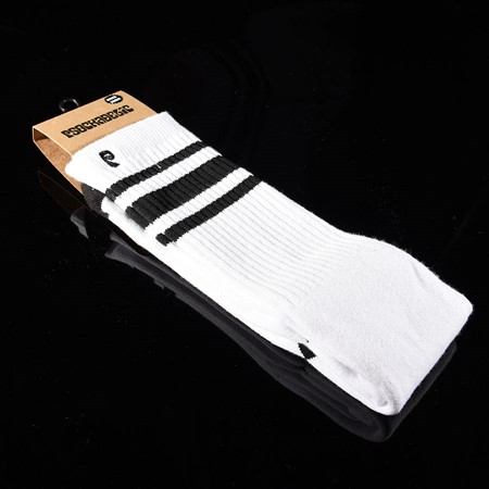 Psockadelic High Times Socks White, Black