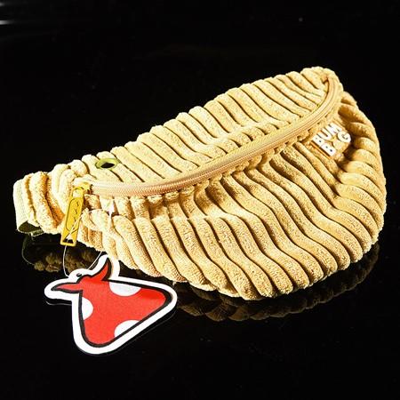 Bumbag Boogie Down Basic Bumbag Mustard Single-Wale Corduroy