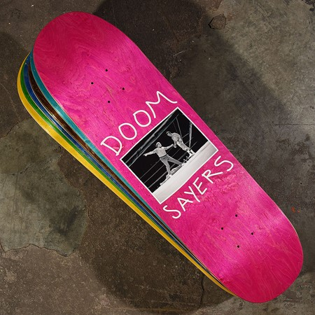 Doom Sayers Knockout Deck Assorted Stains