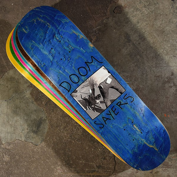 Doom Sayers Pitbull Deck Assorted Stains