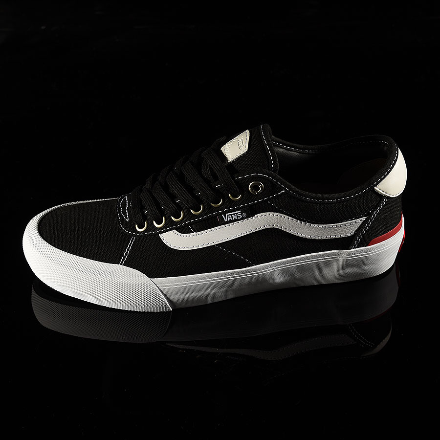 Black Canvas, White Shoes Chima Pro 2 Shoe in Stock Now