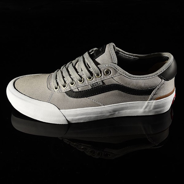 Vans Chima Pro 2 Shoe Drizzle, Black, White