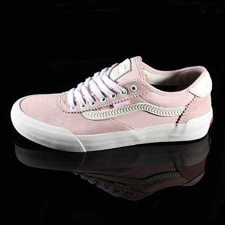 Size 10.5 in Vans Chima Pro 2 Shoe, Color: Pink, White, Spitfire