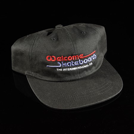 Welcome Interdimensional Unstructured Snap Back Hat Black
