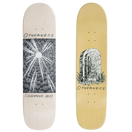 The Otherness Shannon May 31 Shape Deck Yellow