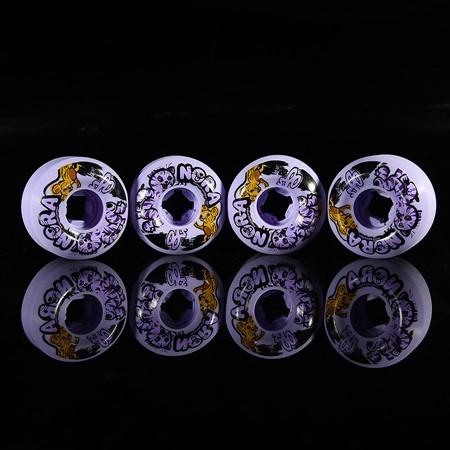 OJ III Wheels Nora Vasconcellos Cat and Mouse Insaneathane 101a Wheels Purple Universe