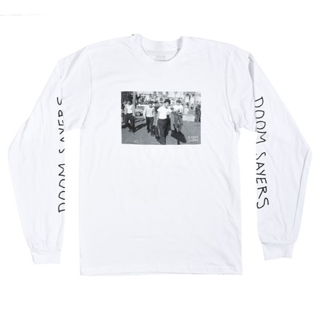 Doom Sayers The Approach Long Sleeve T Shirt White
