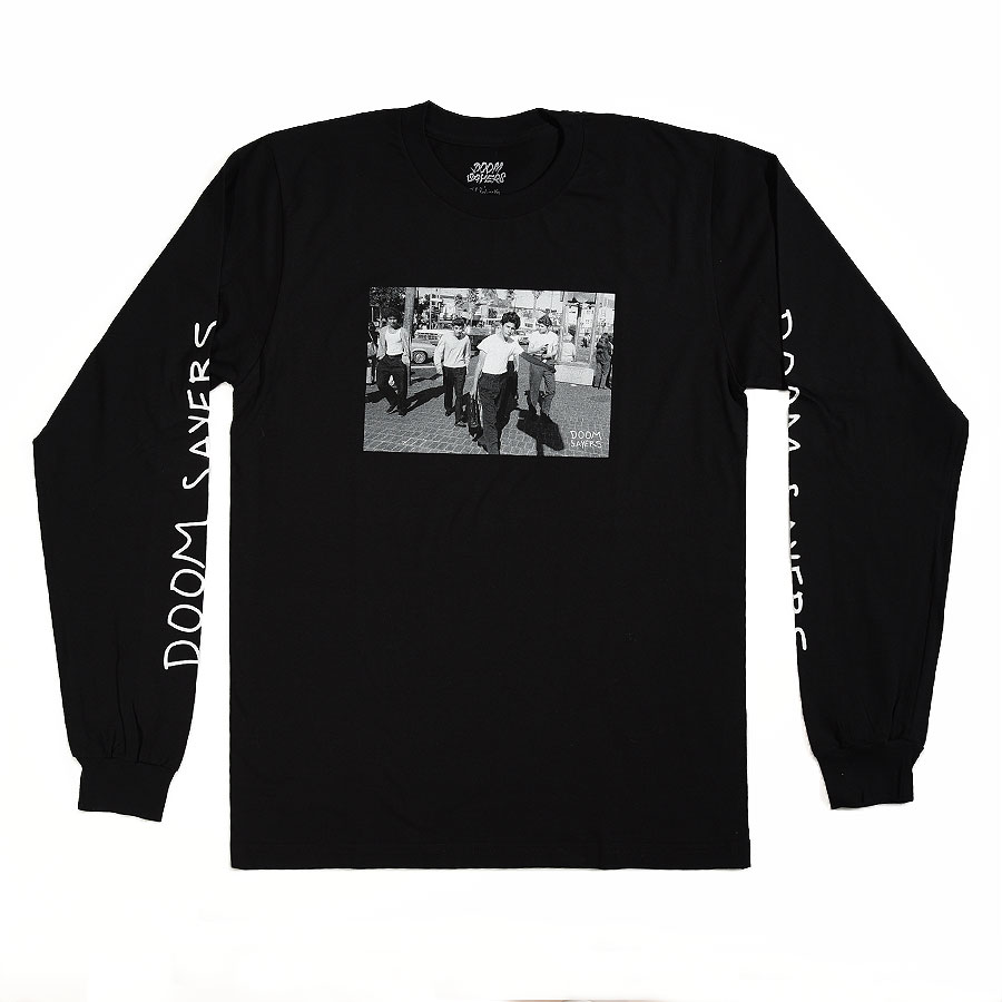 Black T Shirts The Approach Long Sleeve T Shirt in Stock Now