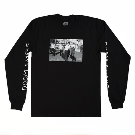 Doom Sayers The Approach Long Sleeve T Shirt Black