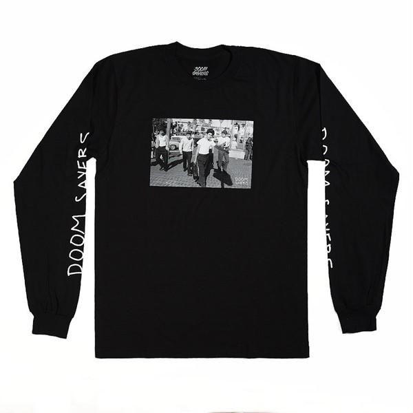 Doom Sayers The Approach Long Sleeve T Shirt Black