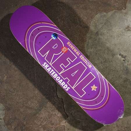 Real Oval Remix PP Deck Purple