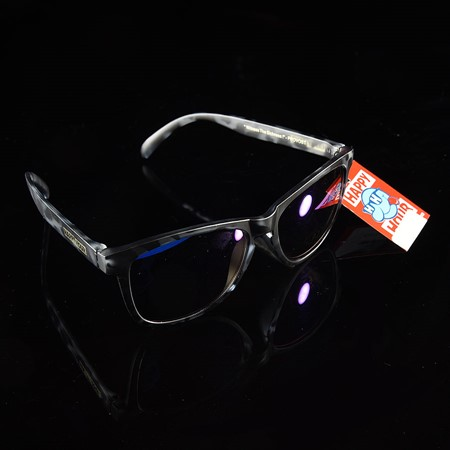 Happy Hour Shades Chief Dogg's Sunglasses Black, Yellow, Purple