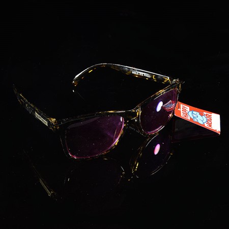 Happy Hour Shades Picadilly's Sunglasses Black, Yellow, Purple