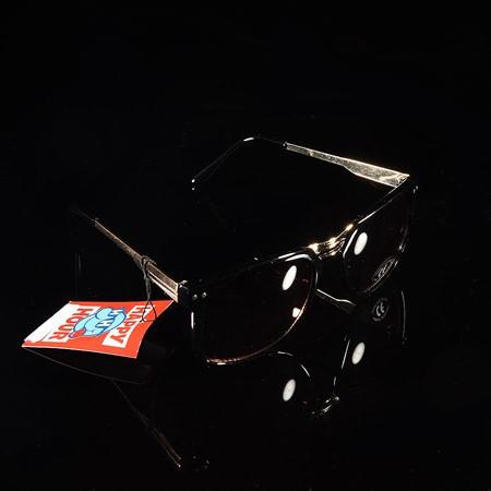 Happy Hour Shades Kevin Romar Kingstons Sunglasses Black, Gold