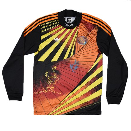 adidas Nakel Jersey Black, Yellow