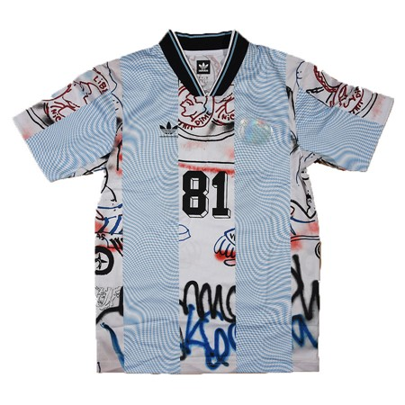 adidas Gonzales Jersey Black, White, Clear Blue