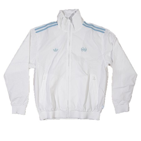 adidas adidas X Krooked Track Jacket White, Clear Blue