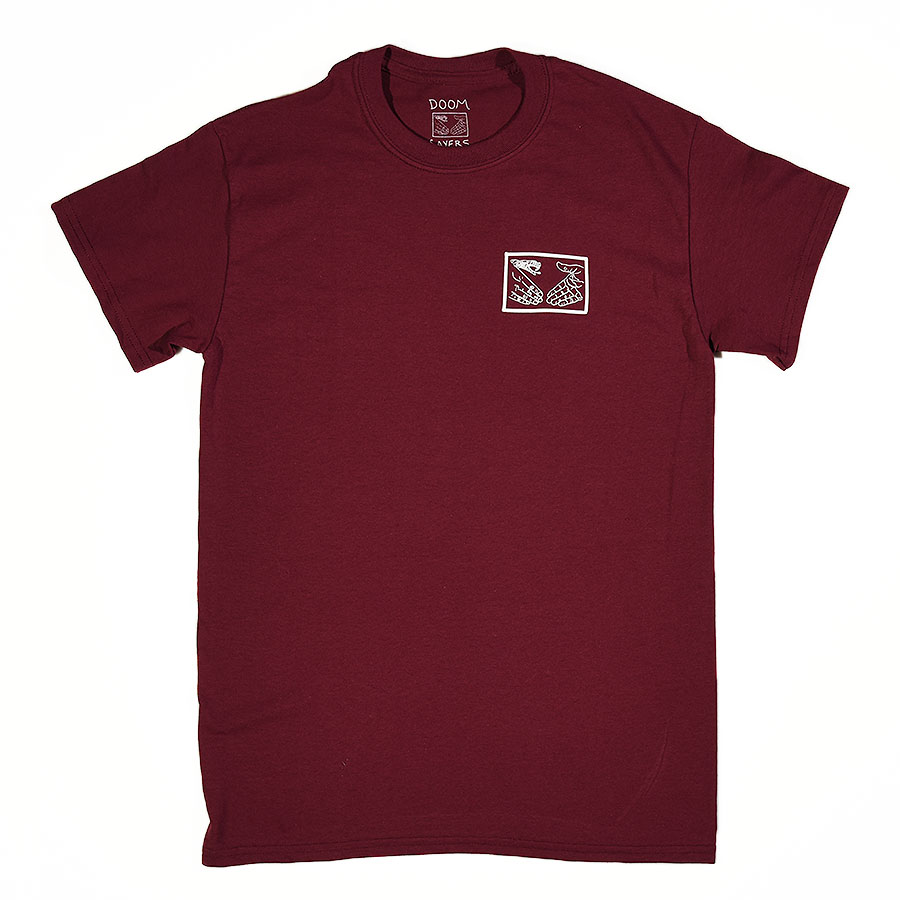 Burgundy T Shirts Snake Shake T Shirt in Stock Now