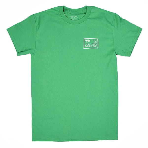 Doom Sayers Snake Shake T Shirt Kelly Green