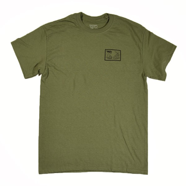 Doom Sayers Snake Shake T Shirt Military