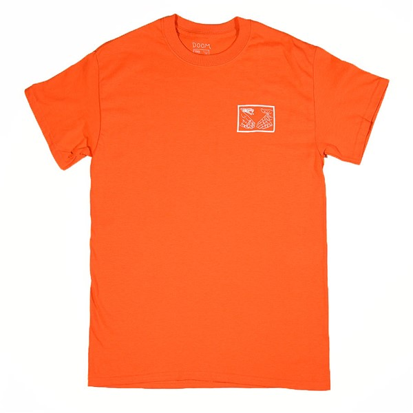 Doom Sayers Snake Shake T Shirt Orange